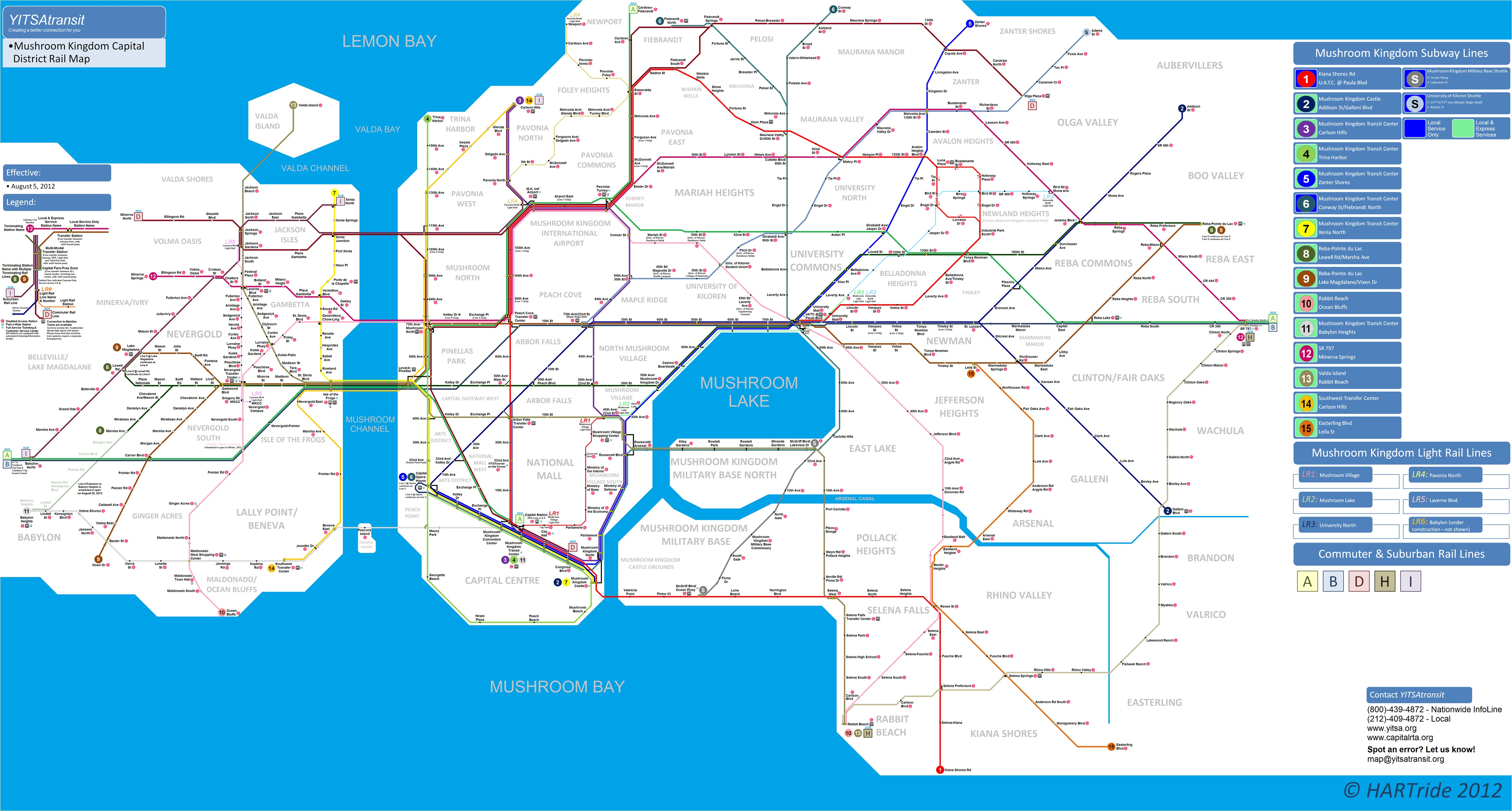 4 Train Subway Map.Fictional Transit System Projects The Global Transit Guidebook By