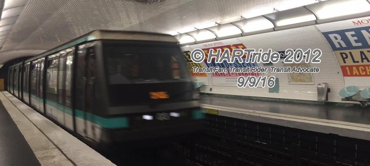 Paris, France –Metro