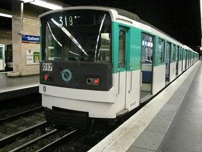 Photo courtesy of Beno. http://beno.org.uk/train/paris.html