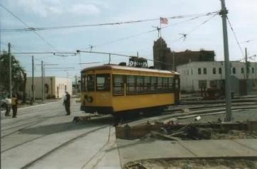 Train #163 travelling through Ybor City. Photo courtesy of Shawn B.