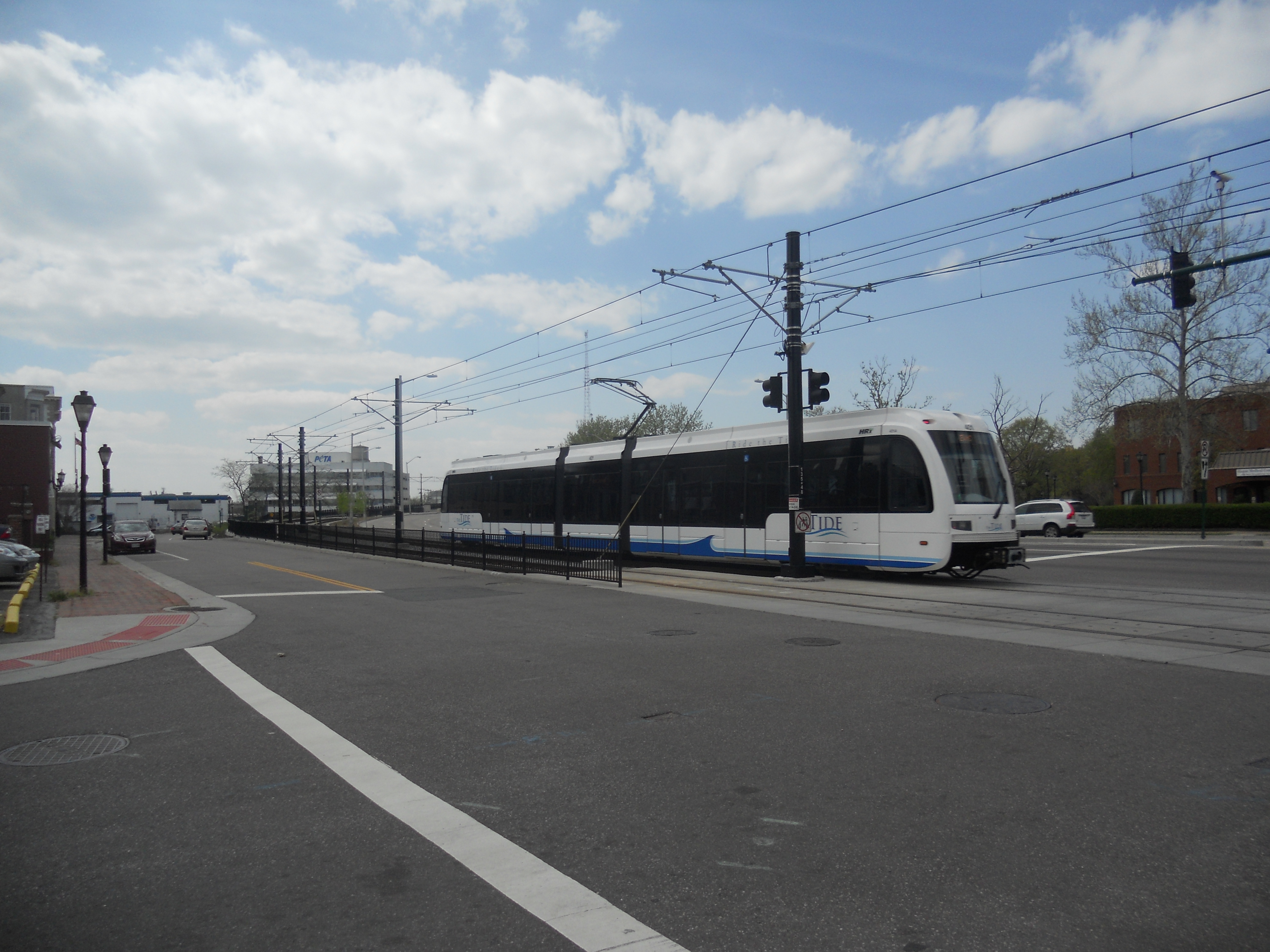 If a plan to eliminate the Eastern Virginia Medical Center loop segment of Route 44 goes through, the direct connection between the bus route and the Tide LRT could be lost. Photo Credit: HARTride 2012.