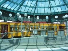 Train #429 at Dick Greco Plaza. Photo courtesy of Shawn B.