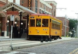 Train #435 at Centro Ybor. Photo courtesy of Shawn B.