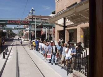 Long lines await in Ybor City. Photo courtesy of Shawn B.