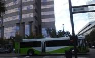 #1212 makes its turn onto Morgan St in downtown Tampa. Photo Credit: HARTride 2012. January, 2014.