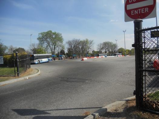 The current Cedar Grove Transfer Center near downtown Norfolk.