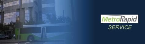 MetroRapid Banner