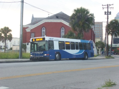 Here's #2318 alongside Marion St, ready to run the Route 30.