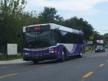 #2603 travels down Nebraska Ave, Route 2. Photo taken by HARTride 2012. July, 2009.