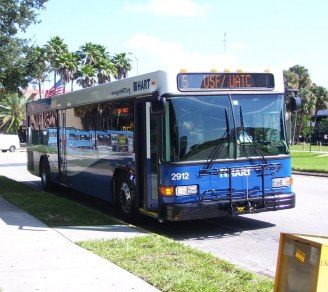 Here's #2912 at the USF Tampa campus. Photo taken by HARTride 2012. September, 2009.