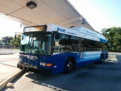 1511 on layover at Yukon Transfer Center, Route 39.