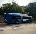 1606 pulls away from Marion Transit Center.