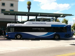 1613 on layover at Marion Transit Center.