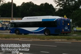 #1517 going southbound on Route 36.