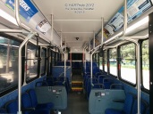 Interior of #1503. Notice the seats and seating layout?