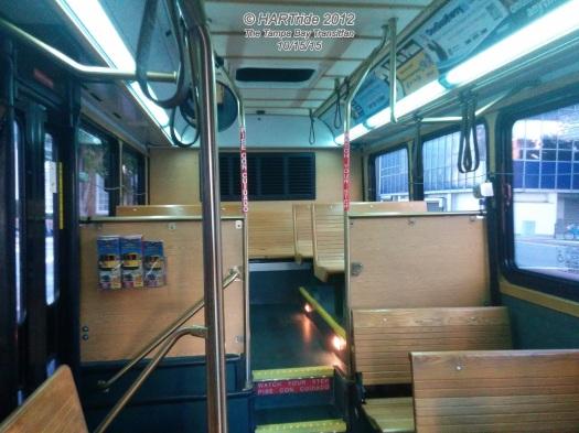 The interior of #2703.