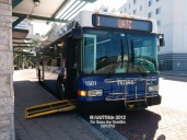 #1501 at the Marion Transit Center, preparing to run on Route 1.
