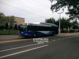 #1521 approaching the University Area Transit Center.