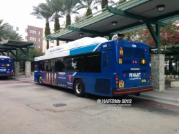 #1503 at the Marion Transit Center, Route 8.