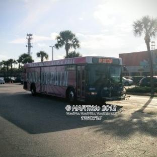 #2928 leaving Britton Plaza.