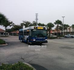 #2219 leaving Britton Plaza.