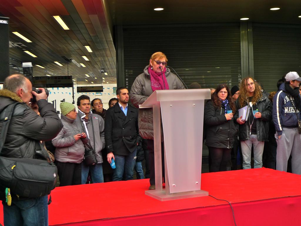 Villejuif mayor Claudine Cordillot. Photo Credit: Soundlandscapes Blog.