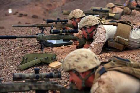 Ready...Aim...FIRE! Photo Credit: US Marines/SSgt. Matt. Orr.