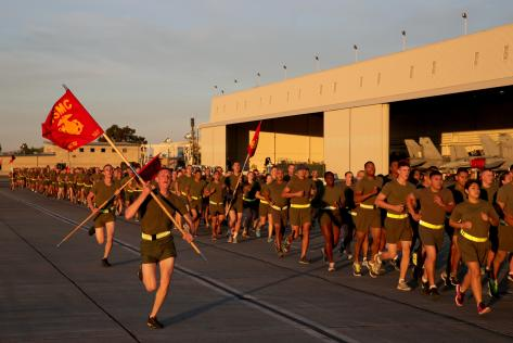 Run, run, run! :) Photo Credit: US Marines/Lance Cpl. Owen Kimbrel.