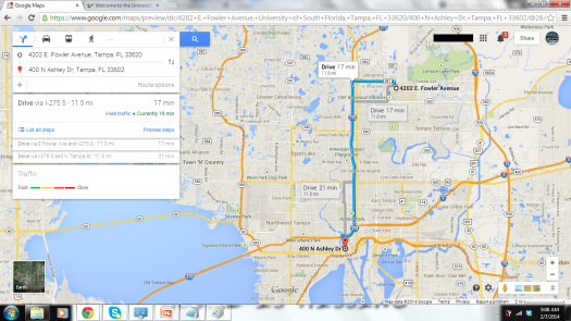 Any request to fetch directions on Google Maps automatically defaults to the driving directions option.