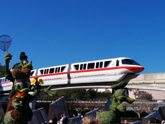 The Walt Disney World Monorail is one of only a handful of monorail systems in operation in the United States. Seattle and Las Vegas also have monorail lines. Photo Credit: HARTride 2012. March, 2014.