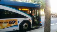#2806 at Williams Park, Route 18. Photo Credit: HARTride 2012.