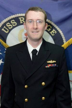 LTJG Jamison R. Fiebrandt, whom I know personally. Photo Credit: US Navy.
