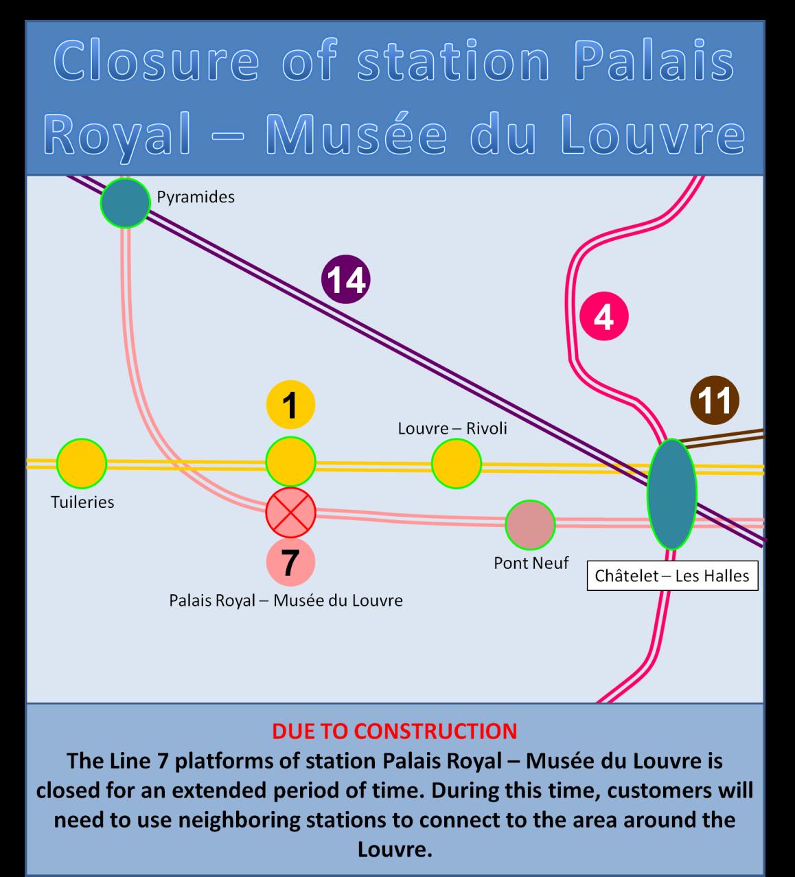 Palais Royal Closure 2