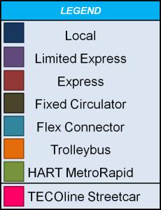 HART Route Legend 1