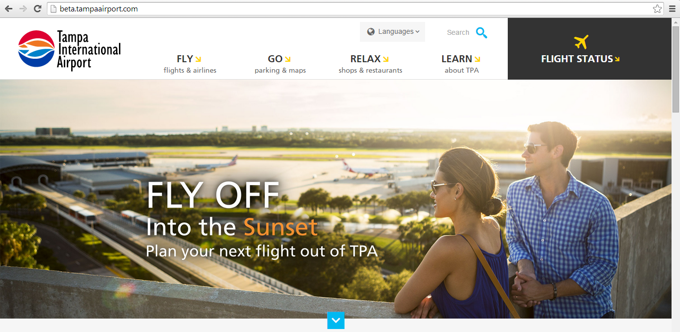 TPA Airport New Website 1