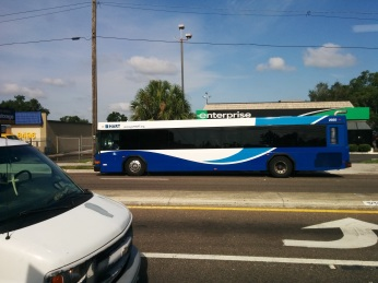 #2920 on Route 2 going to downtown. Photo Credit: HARTride 2012. July, 2015.