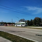 And here's #10112 going in the opposite direction. This bus is mostly on Routes 76 and 78 nowadays.