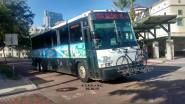 #2302 arriving at the Marion Transit Center, Route 100X. Photo Credit: Carlos A.