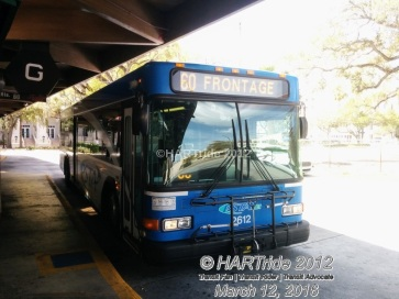 #2612 at Park St Terminal, Route 60.