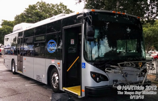 A later model BYD bus embarked on its Florida tour in September, 2015, making stops in Tampa, St. Petersburg, Orlando, and Miami.