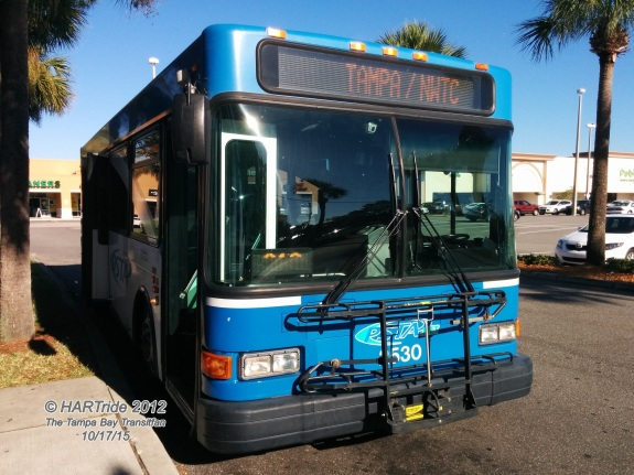 Another front shot of #2530, this time at the Shoppes at Boot Ranch near East Lake.