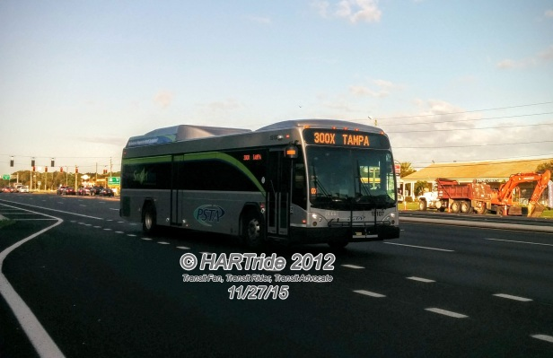 #15107 on Route 300X.