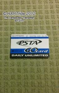 PSTA GO Card.