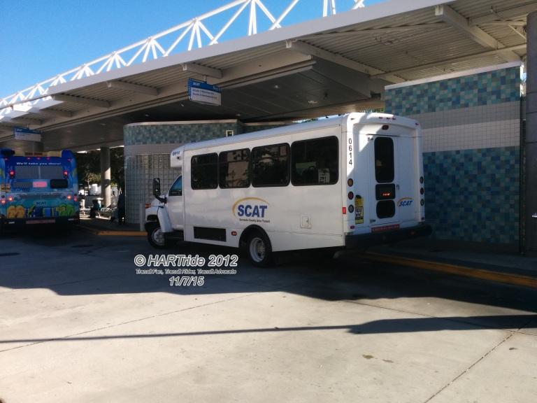 #0614 at the Downtown Sarasota Transfer Center.