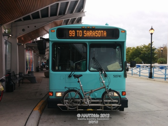 #50741 at the Downtown Bradenton Station.
