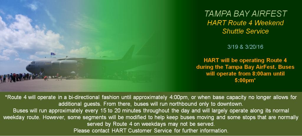 HART AirFest 2016 Transportation Banner 1