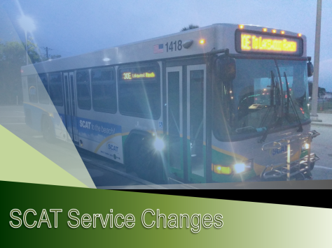 SCAT April 2016 Service Changes 1