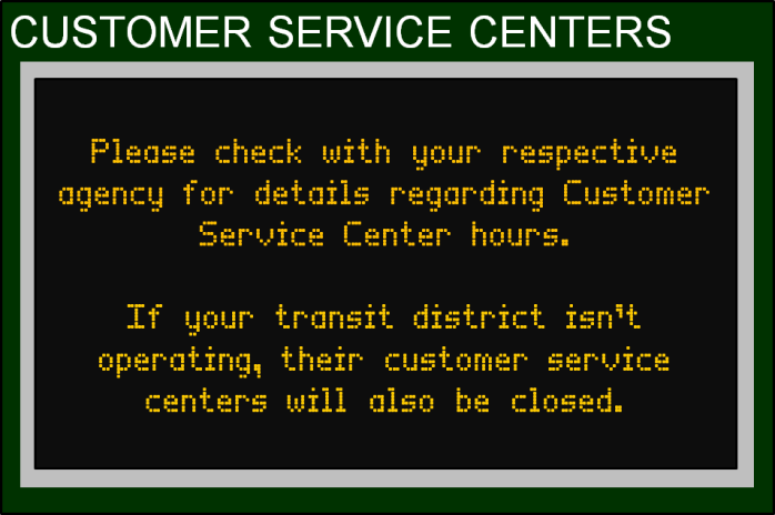 July 4 Holiday Transit Schedules Banner 9 - Cust Serv 1