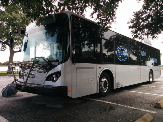 PSTA Board votes to purchase two battery electric buses