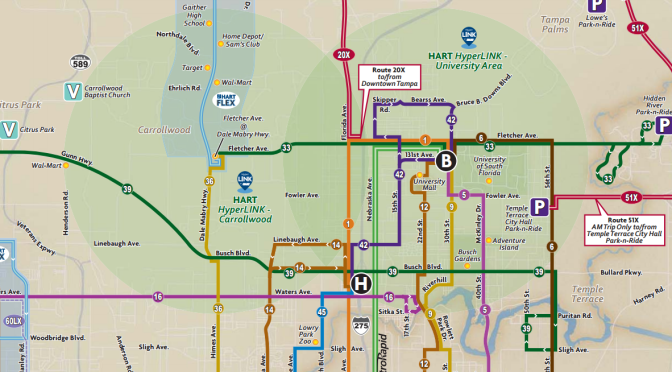 HART Transit Routes (Effective October 8, 2017)   The Global Transit ...